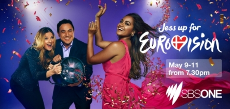 Jessica Mauboy will appear Eurovision for Australia (c) SBS Facebook