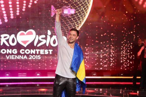 Måns Zelmerlöw winner 2015 Eurovision Song Contest in Vienna