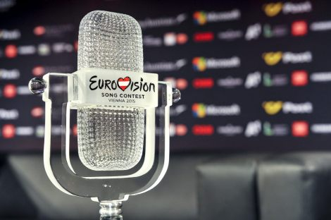 Official trophy of the Eurovision Song Contest 2015 - Vienna