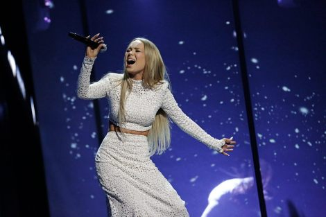 Norway's 2016 Eurovision entry - Agnete with Icebreaker