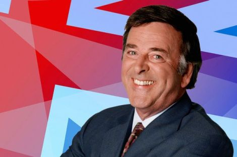 British Eurovision commentator, Terry Wogan