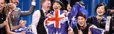 Dami Im, second for Australia at the Eurovision Song Contest of 2016 (source: eurovision.tv)