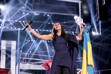 Jamala from Ukraine with 1944 wins the 2016 Eurovision Song Contest in Stockholm