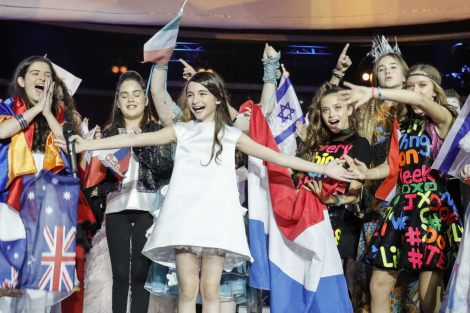 Georgia's Mariam Mamadashvili with Mzeo wins Junior Eurovision Song Contest of 2016