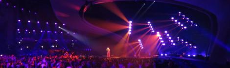 Anja Nissen for Denmark (and Australia1) at Semi Final 2 Jury Show - Eurovision Song Contest Kyiv 2017