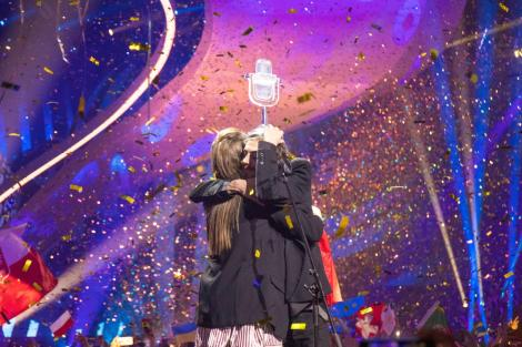 Salvador Sobral from Portugal wins Eurovision Song Contest Kyiv 2017