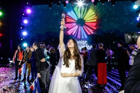 Russia's Polina Bogusevich wins Junior Eurovision of 2017 Tbilisi with Wings