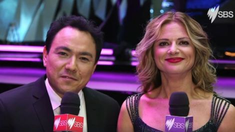 Sam Pang & Julia Zemiro - SBS Eurovision Song Contest Australia commentators