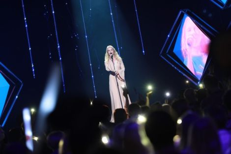 Kadiah performing Believe at Eesti Laul 2019 Grand Final - Estonia Eurovision Song Contest