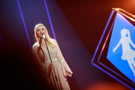 Kadiah performing Believe at Eesti Laul 2019 semi final 2 in Tartu