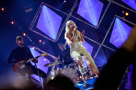 Kerli Kivilaan performing Cold Love at Eesti Laul 2019 semi final 2 in Tartu