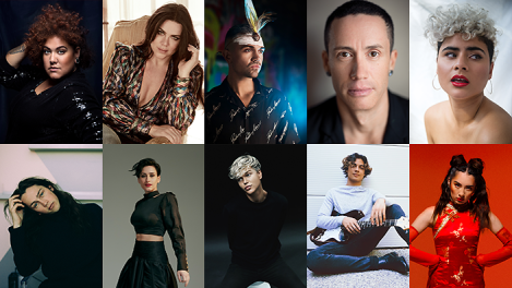 Australia Decides 2020 Artists - Preview - Eurovision