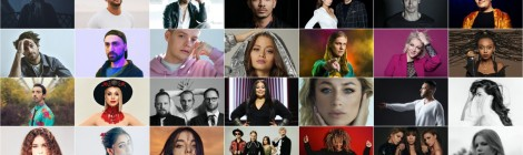 All artists that would have appeared at Eurovision Song Contest 2020 in Rotterdam