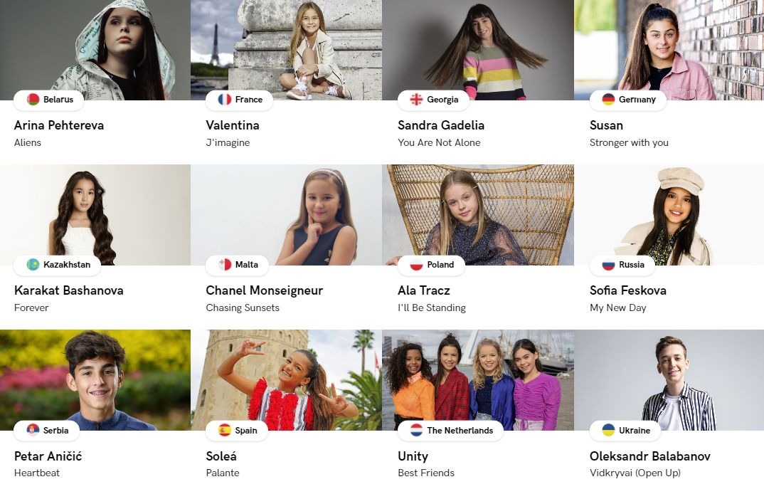 Artists for Junior Eurovision 2020 - Poland - Preview