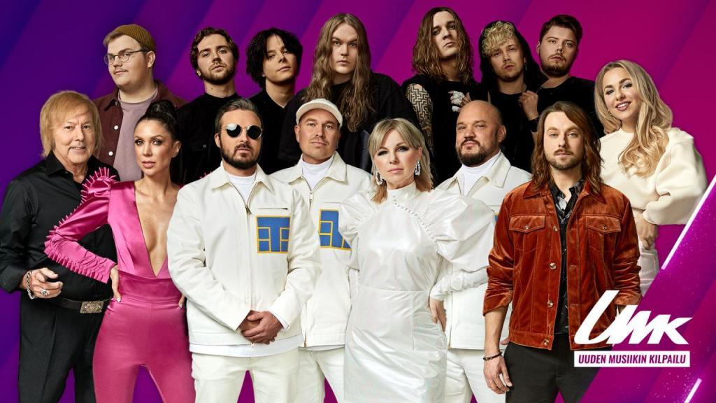 UMK 2021 artists - Preview - Eurovision Finland