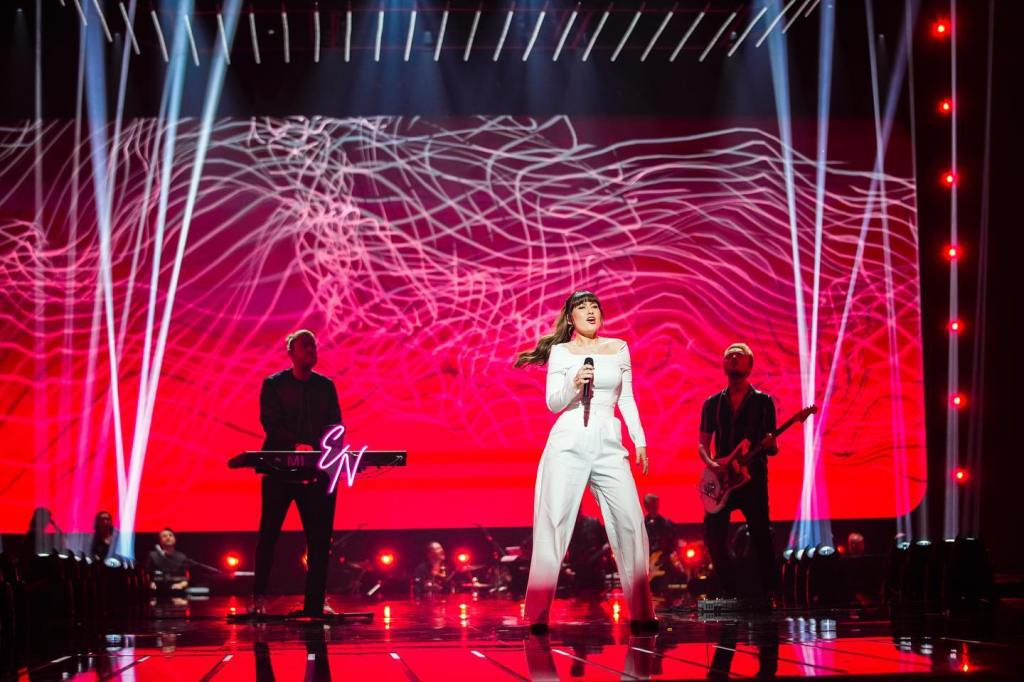 Emma Nicoline performs Står Lige Her at Dansk Melodi Grand Prix 2021 - National Final Injustices - Review - Eurovision